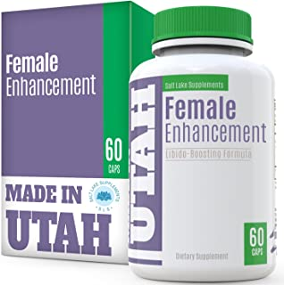 Female Enhancement Natural Boosting Formula - with Vitamins, Minerals and Tribulus, Epimedium, Ginseng, Maca, We Added Bioperine for Maximum Absorption and Bioavailability