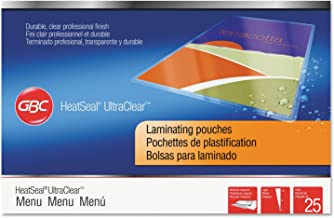 Swingline GBC 3200579 UltraClear Thermal Laminating Pouches, 3 mil, 11 1/2 x 17 1/2, 25/Pack
