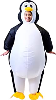 Spooktacular Creations Inflatable Costume Penguin Air Blow-up Deluxe Halloween Costume - Child