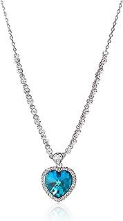 Swarovski Elements 18K White Gold Plated Necklace For Women SWR-224