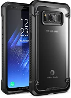 SupCase Samsung Galaxy S8 Active Case, Unicorn Beetle Series Premium Hybrid Protective Frost Clear Case for Samsung Galaxy S8 Active 2017 Release (Not Fit Regular Galaxy S8/S8 Plus) (Frost/Black)