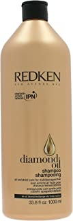 Redken Diamond Oil Shampoo (For Dull, Damaged Hair) 1000ml/33.8oz