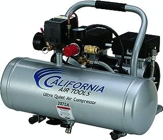 California Air Tools 2075A Ultra Quiet and Oil-Free 3/4 HP 2.0-Gallon Aluminum Tank Air Compressor
