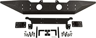 Rugged Ridge 11548.03 Black Spartan Front Bumper (Standard Ends Without Over rider)