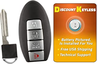 Discount Keyless Remote Replacement Car Smart Key Fob For Nissan Altima Maxima Murano G35 G37 KR55WK48903