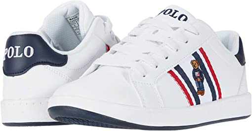 White Smooth/White/Navy/Red/Americana Boy Bear