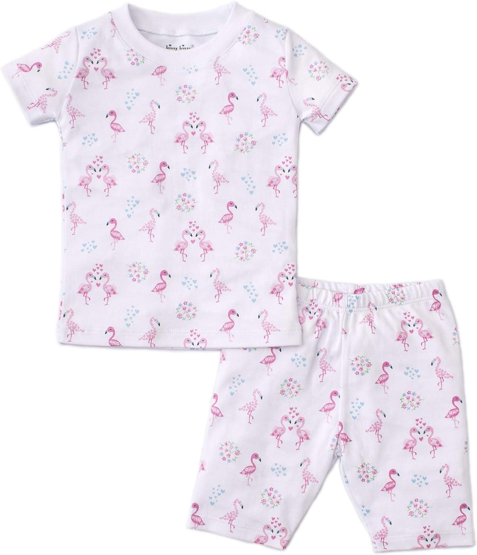 Kissy Kissy Baby-Girls Infant Flowering Flamingos Print Short Pajamas Set