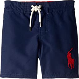 d33124984 Newport Navy. 3. Polo Ralph Lauren Kids. Sanibel Big Pony Swim Trunks  (Toddler)