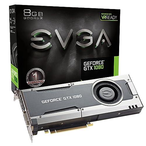 EVGA GeForce GTX 1080 GAMING, 8GB GDDRX, DX12 OSD Support (PXOC) Graphics
