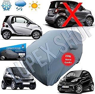 EMMEA Telo Cover Auto Felpato Compatibile con Smart FORTWO 2010 Copertura Copri Auto
