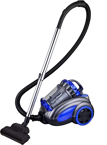 New 2800W Vacuum Cleaner Bagless Cyclonic with Turbo Head (Blue)
