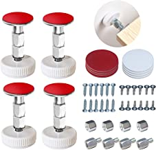 4 Sets Bed Frame Anti-Shake Tools- Adjustable Threaded Anti Shake Fixer/Headboard Stoppers, Bedside Telescopic Support Sta...
