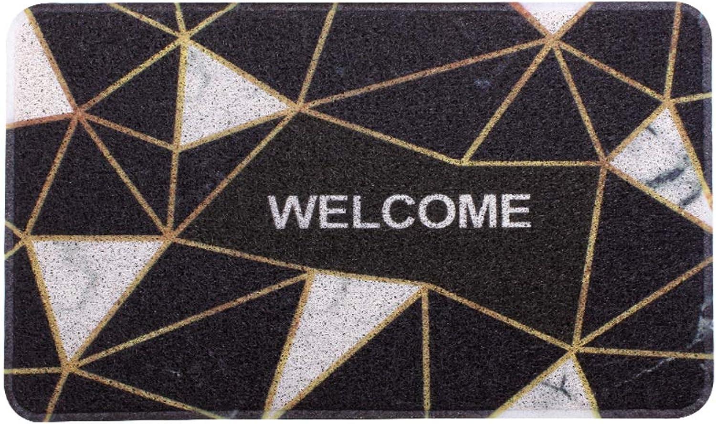 Door mat,Doormats Entrance Rug Bathroom Non Slip Door mat Front Entrance Door mat Front Door mat-Geometry 80X120cm(31x47inch)