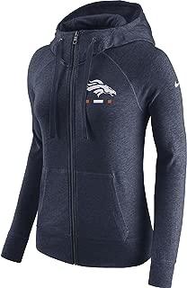 Nike Women's Denver Broncos Full Zip Vintage Gym Hoodie