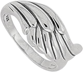Best sterling silver angel ring Reviews