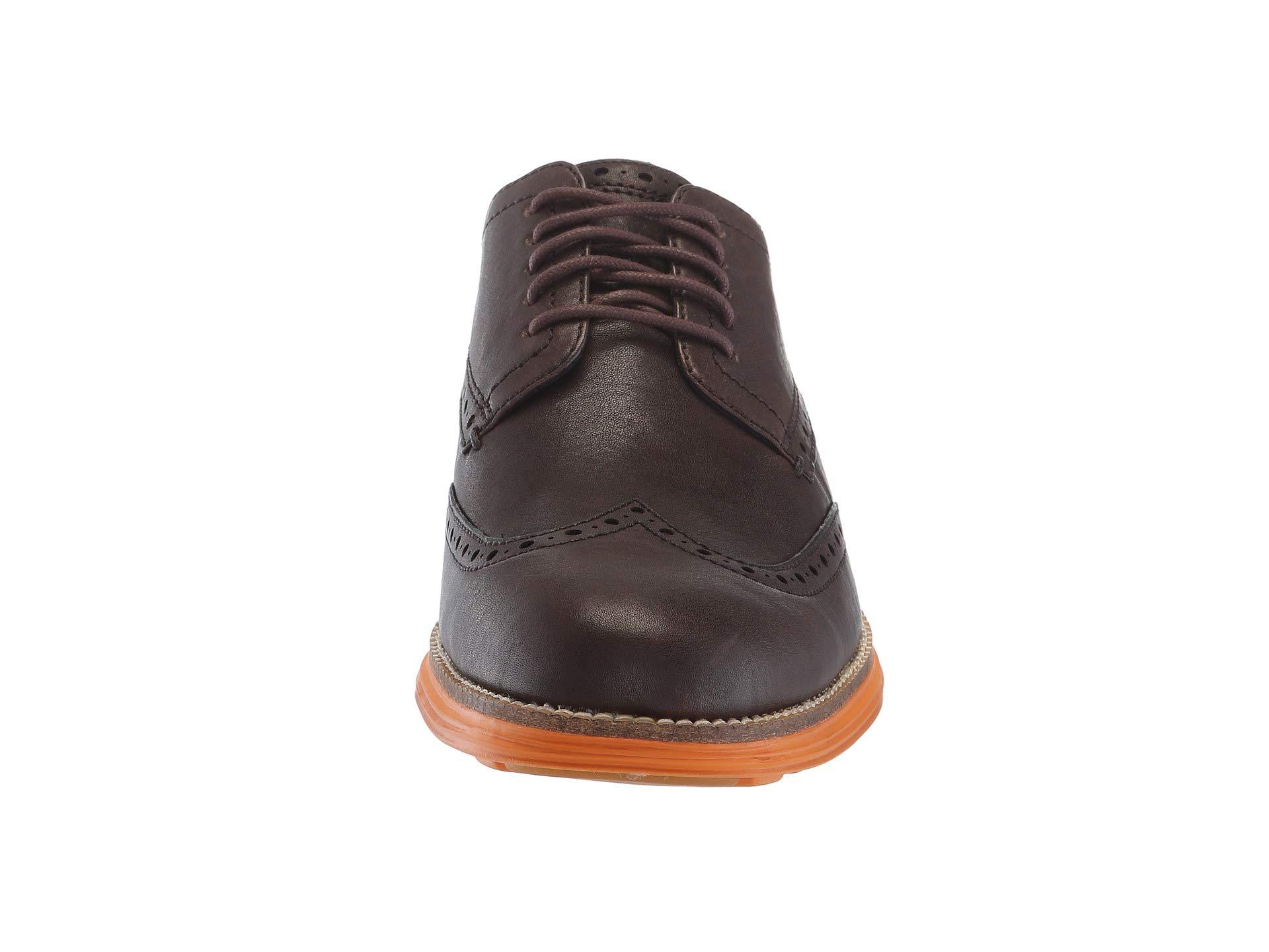 Grand Haan Java Oxford Wingtip Cole tumeric Leather Original fwqAFEO