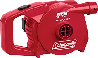 Coleman 4D QuickPump Electric Battery Operated Pump For Airbeds, Wireless Inflation Deflation Pump Portable, 4 x D Batteries Not Included