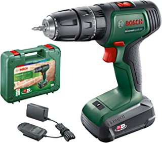 Bosch 06039D4170 Cordless Hammer Drill UniversalImpact 18V (1 battery, 18 Volt System, in carrying case)