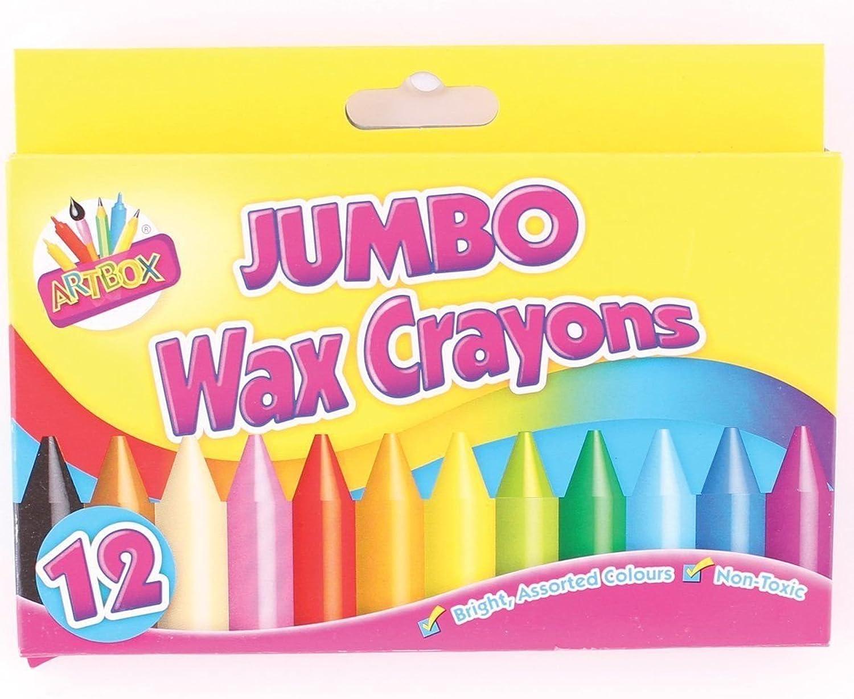 2 X Artbox 12 jumbo-größe wachsmalstifte set von 12 ausgewählte farben B00OW60XGO   Verpackungsvielfalt