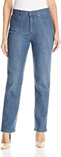 Gloria Vanderbilt Amanda Tapered Leg, Stretch Womens Jeans (Color Sparrow) (18 Long)