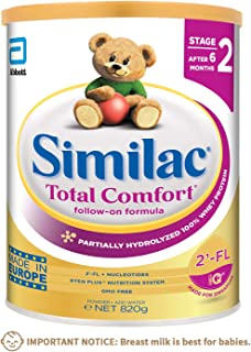 Similac Total Comfort with 2'-FL, Stage 2, Follow-on formula, for after 6 months, 820g