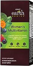 GNC Earth Genius Women's Multivitamin, 60 Vegetarian Caplets, Supports Women's Nutrition