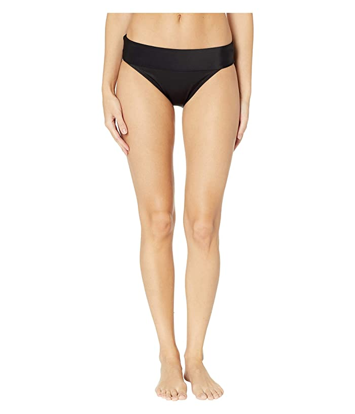 Miraclesuit Fold-Over Pant (Black) Women