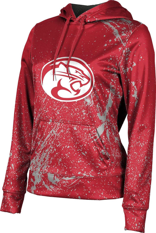 ProSphere University of Houston Girls' Pullover Hoodie, School Spirit Sweatshirt (Splatter)