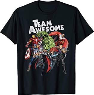 team awesome shirt