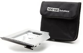 Newmodeus 2nd Hard Drive Caddy for DELL Modular Bay E6520, E6530, E6420, E6430, E6320, E6330 (Original Caddy)
