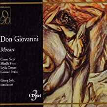 Mozart: Don Giovanni / Siepi, Freni, Gencer, Evans, Orq. Y Coro Del Covent Garden - Solti