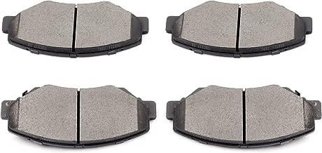 Brake Pads,ECCPP 4pcs Front Ceramic Disc Brake Pads Kits for Acura ILX,Honda Accord,Honda Civic,Honda CR-V,Honda Element,Honda Pilot