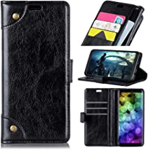 Kyocera Android One S4 Case,Kyocera Android One S4 Case,Accessories Premium PU Leather Wallet Snap Case Accessories Accessories Flip Cover for Kyocera Android One S4 Black