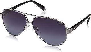 Polaroid Sunglasses For Men, Grey, Pld 4061/S 6Lb Ruthenium, Wayfarer Frame