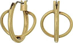 Lucky Brand - Twisted Mini Hoop Earrings