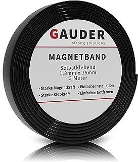 comprar comparacion GAUDER Cinta Magnética Adhesiva | Banda Magnética Autoadhesiva | Tira de Imán Flexible