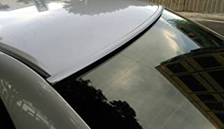 JR2 Painted Silver Color for 2006 2007 2008 2009 2010 2011 Honda Civic Sedan 4D Rear Window Roof Spoiler