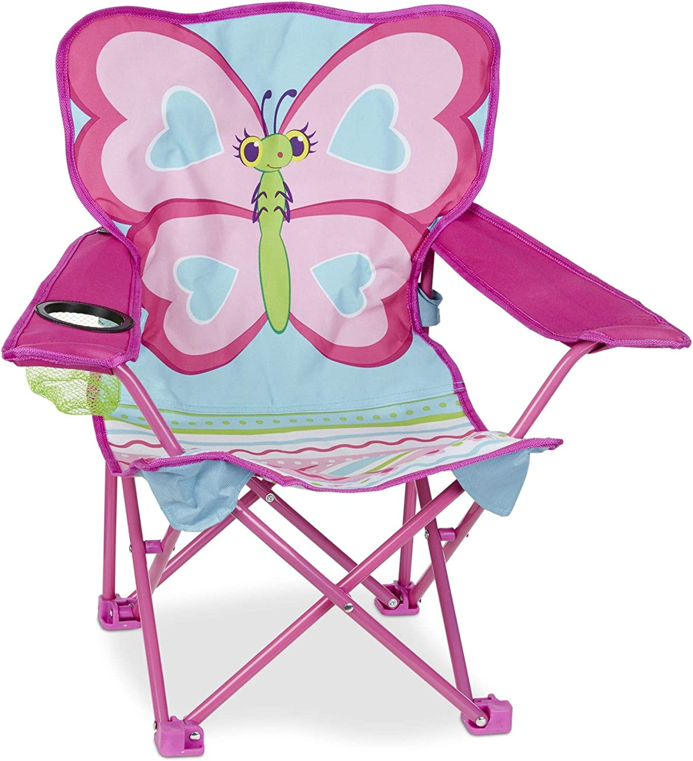 Melissa Doug Cutie Pie Frustration-Free supreme supreme Butterfly Camp Chair