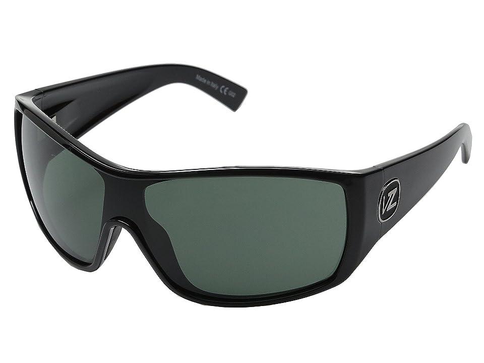VonZipper Berserker (Black/Vintage Grey) Sport Sunglasses