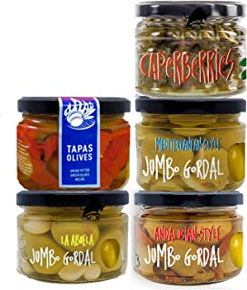 Chef Ole Olivia Olives Gourmet Gift Basket .5 Premium Olives Variety. Our Spanish Olives will change the way you see Olive...