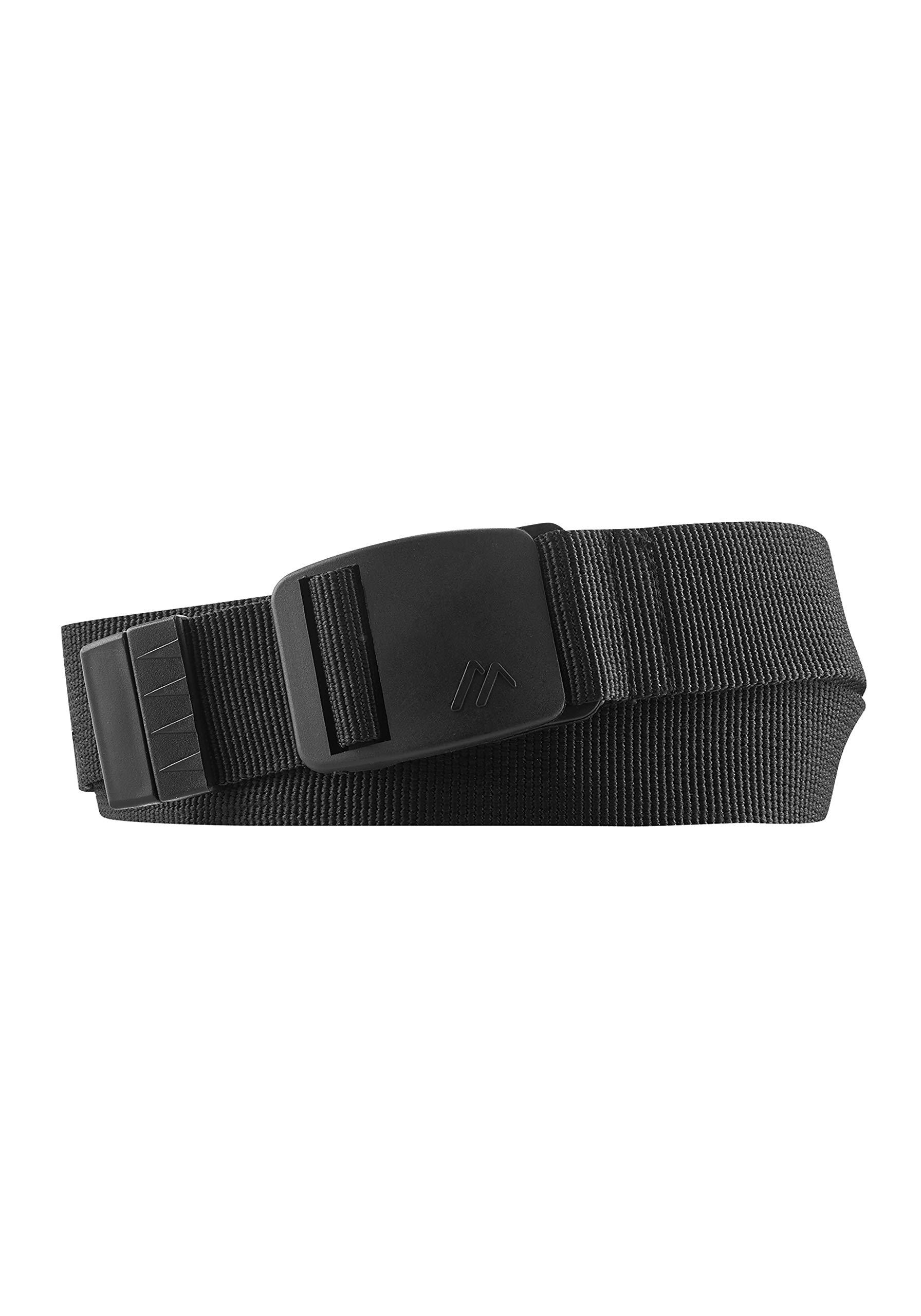 Maier Sports Unisex Gürtel Eco für Outdoor und Wandern, black, 1
