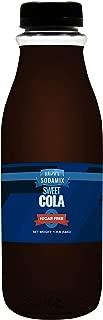 SUGAR FREE Diet Sweet Cola Sparkling Water Sodamix Flavor | 16oz (Pint) Bottle