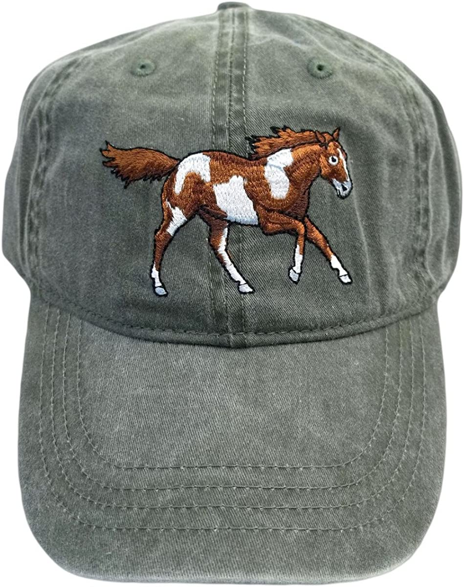 ECO Wear Wild Mustang Baseball Cap Embroidered