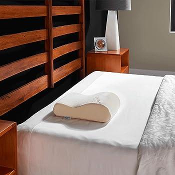 Amazon.com: Tempur Pedic TEMPUR Neck Pillow, Travel, White: Home