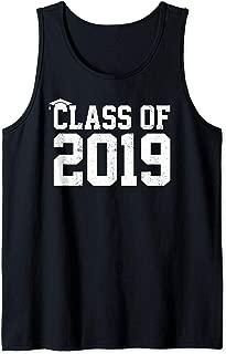 Class Of 2019 Graduation Senior High School College Grad Tank Top