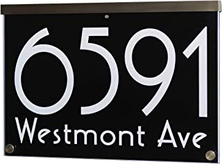 Best house number plaques acrylic Reviews