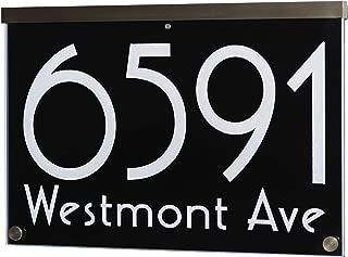 Best aluminium house sign Reviews