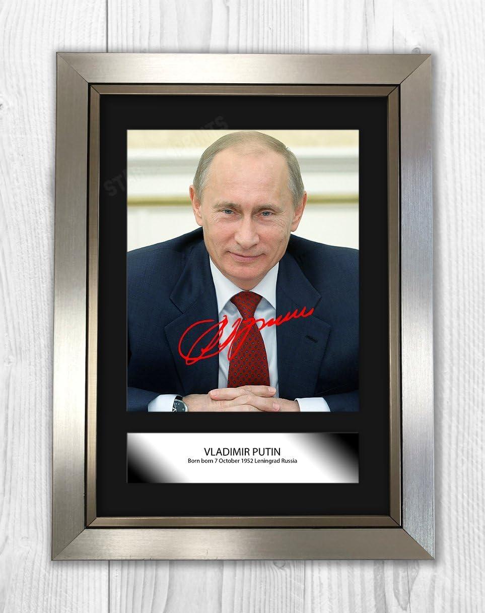 Póster de Bueno con madera de Yorkshire Vladimir Putin ...