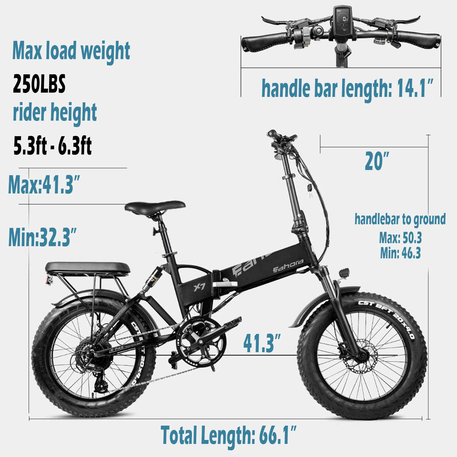 eAhora XC100//AM100//AM200 Ebike Battery Electric Battery Ebike Extra Battery