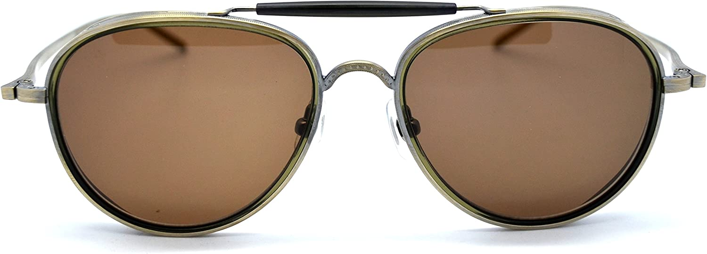Matsuda M3056 Antique gold Aviator Sunglasses